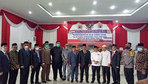 Tok...3x, Dewan Paripurna Umumkan Bupati dan Wakil Bupati Muratara 2021-2026