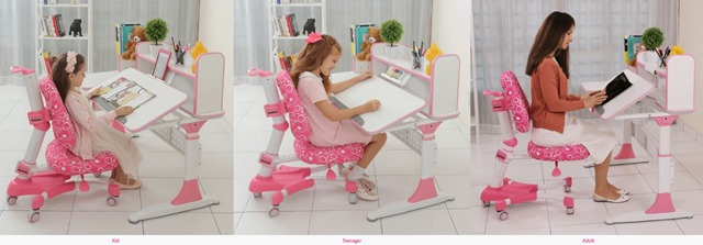 ERGONOMIC STUDY DESK - SUNPERRY KIDS 913)