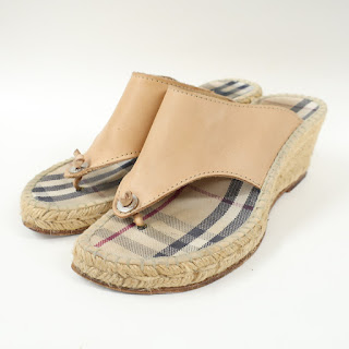 Burberry Espadrille Sandals