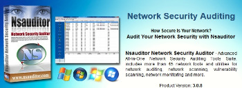 Portable Nsauditor Network Security Auditor 3.0.13.0