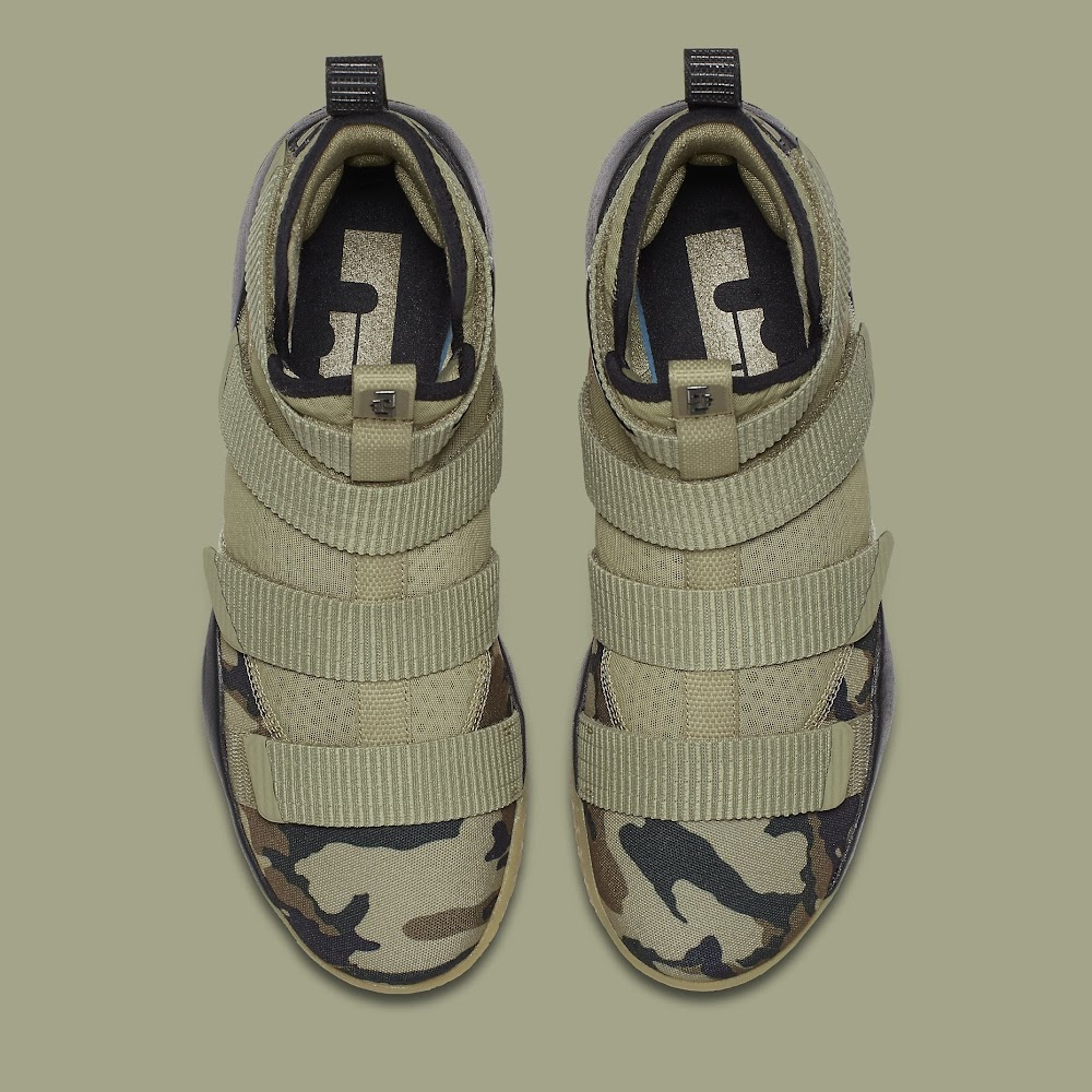designer fashion 12f9c a93c6 ... Nike Adds the Mandatory Camo Look to the LeBron Soldier XI ...