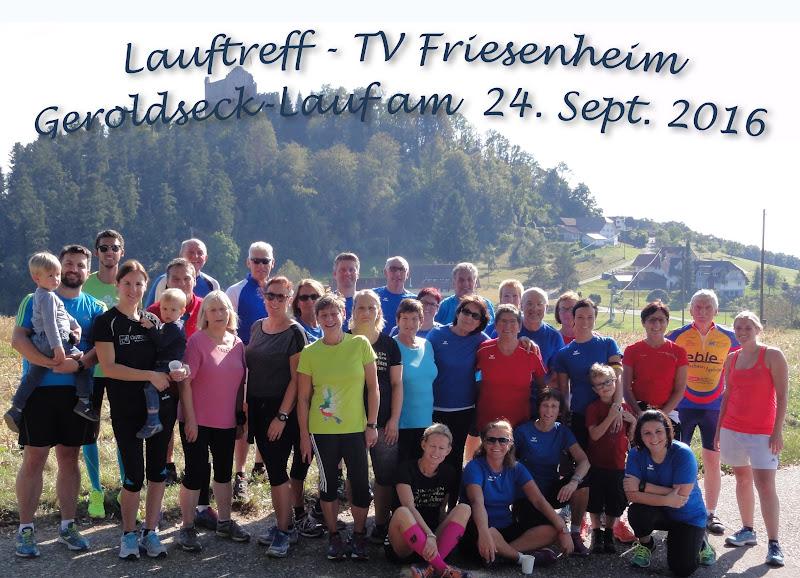 Lauf zum Geroldseck am 24.09.2016