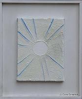 'Der Himmel wird sichtbar', Öl auf Leinwand, 18x24, 2005, verkauft