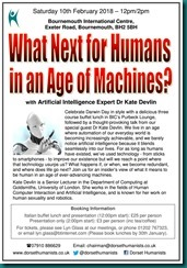 What Next for Humans in an Age of Machines 10 February 2018