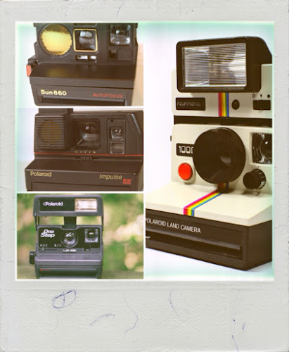 Polaroid Montage by M.A