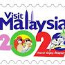 Logo Visit Malaysia 2020