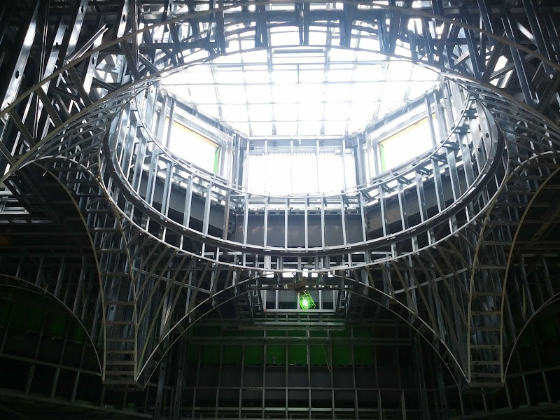 Middle dome structure
