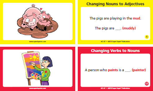 Grammar Chipper Chat Changing Nouns