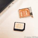nano SIMをmicro SIMのサイズにするアダプタとGPP