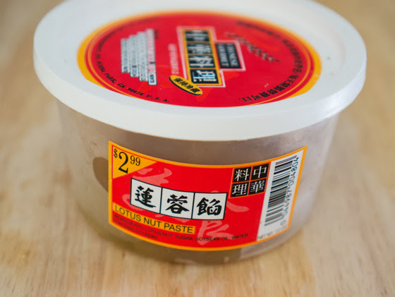 photo of a package of lotus paste
