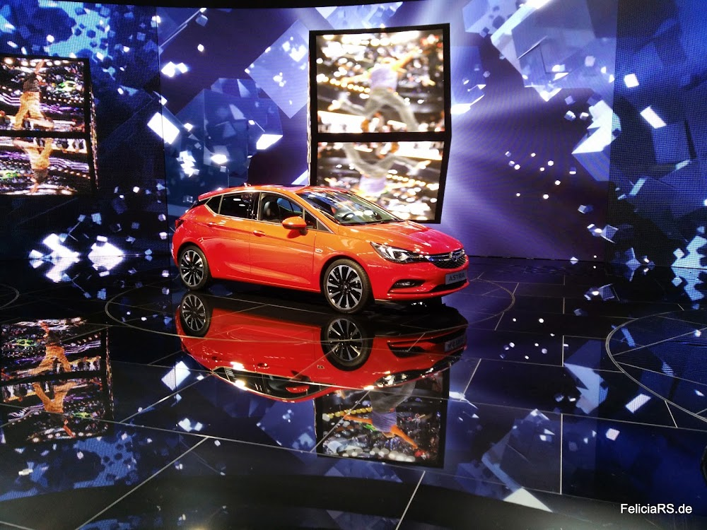 neuer Opel Astra