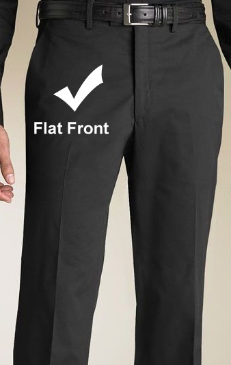 pleated or plain front pants - Pi Pants