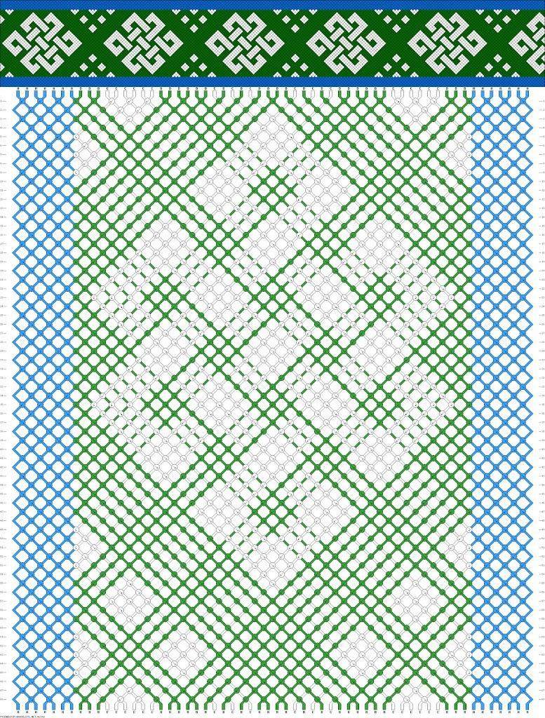 поделки из фенечек из мулине схема