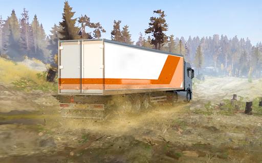 Offroad truck driver 4X4 cargo truck Drive 3D 1.0.8 screenshots 12