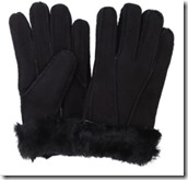 The Fabulous Fleece Company Sheepskin Gloves with Turnback Cuffs