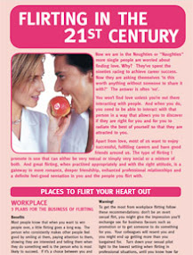 Cover of Angelica Jackson's Book Flirting Tips For The 21st Century