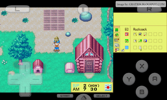 drastic android app game demo harvest moon ds