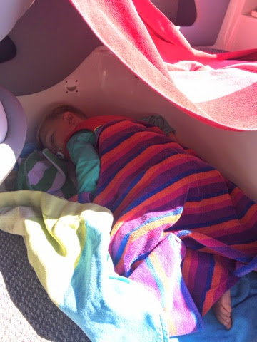 Stilettos and Diapers: Boat Napping