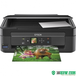 How to reset flashing lights for Epson XP-323 printer