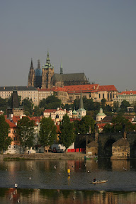 Prague Castle over the river Vitava