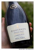 """Medici-Ermete-Lambrusco-Reggiano-""""Concerto""""-2013-Frizzante-Secco"""