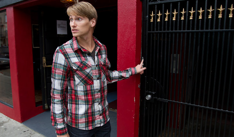 Red Plaid Flannel: Ding Dong Ditch