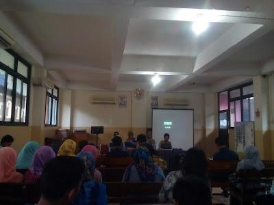 Pengarahan Kasi Kecamatan Tanjung Priok Bapak Purnomo
