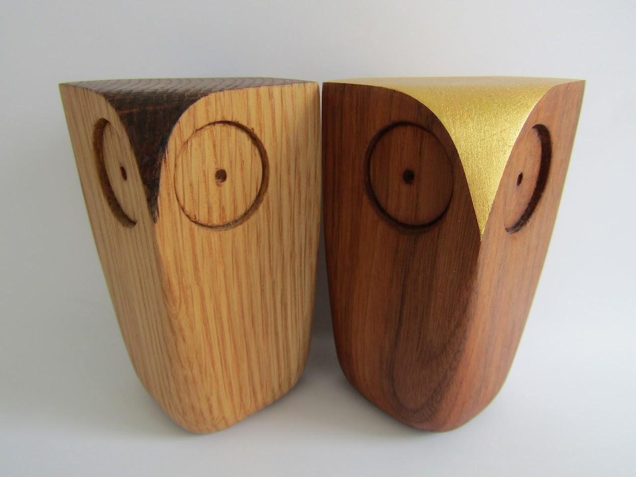 Matt Pugh Owl Figurine Pair