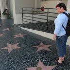 2000 grote gouden sterren, met namen van filmsterren