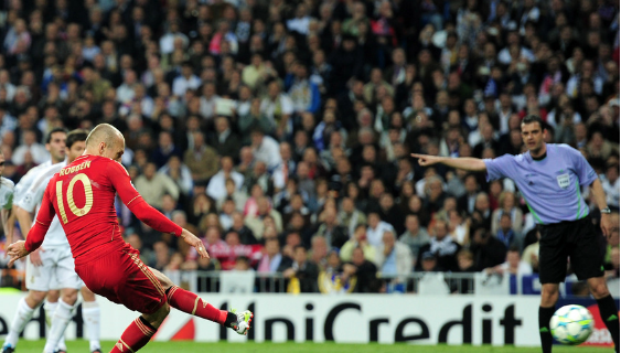 Arjen Robben, Real Madrid - Bayern Munchen