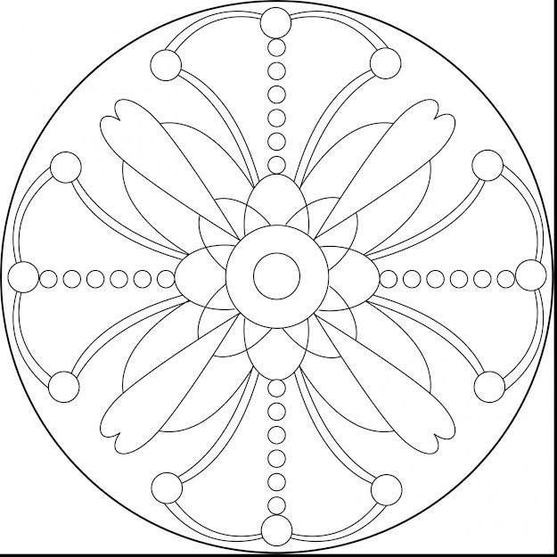 Astounding Printable Mandalas Coloring Pages Plex With Free Printable Mandala  Coloring Pages And Free Printable Animal