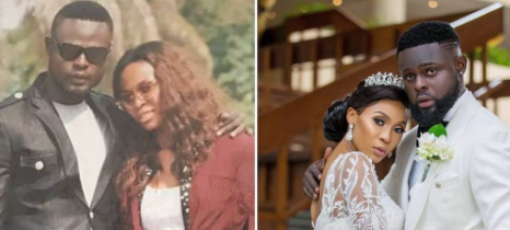 #ThrowBackThursday: Yomi Casual Shares Side By Side Photo Of Himself & New Wife, 2010 & 2017
