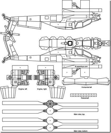 helicoptero apache