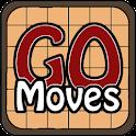 GoMoves (Go, Baduk, Weiqi) icon