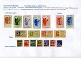 valle bormida francobolli resistenza 1945 - stampe e sovrastampe