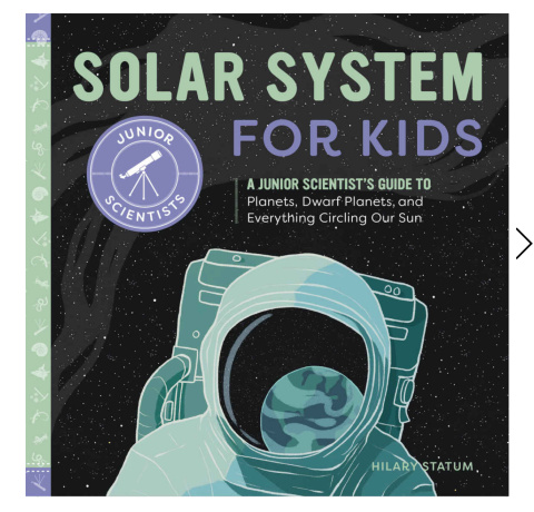 solar system for kids cover
