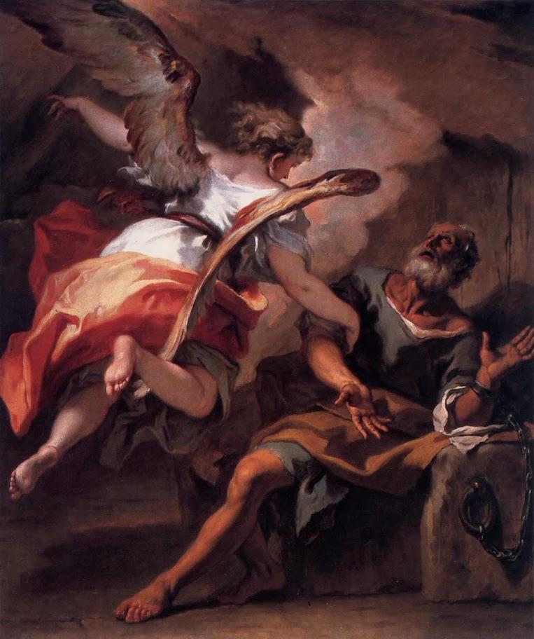 Sebastiano Ricci - The Liberation of St Peter