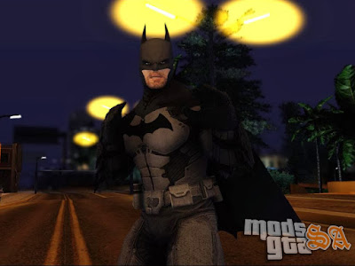 Batman do Batman Arkham Origins para GTA San Andreas