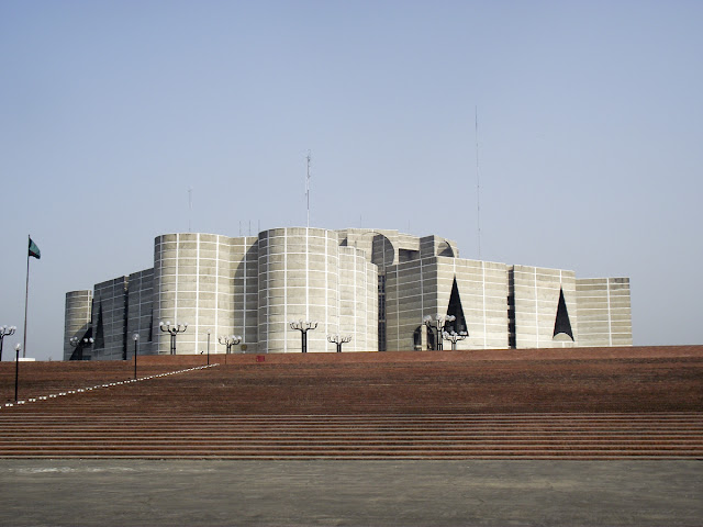 Front view of National Assembly Building