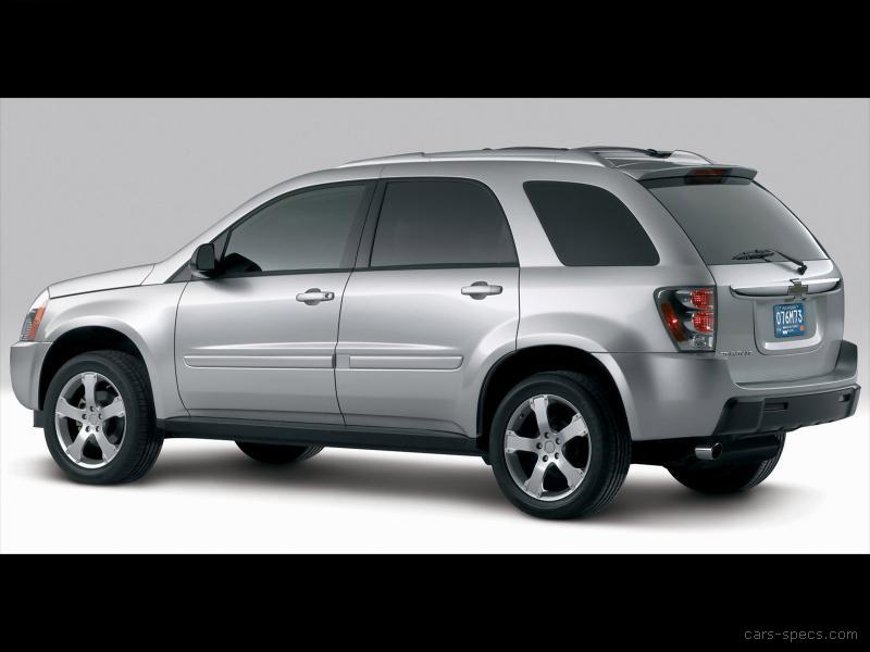 2008 chevrolet equinox suv specifications pictures prices. Black Bedroom Furniture Sets. Home Design Ideas