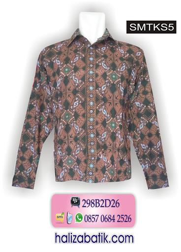 grosir batik murah, model baju batik pria, batik modern pri