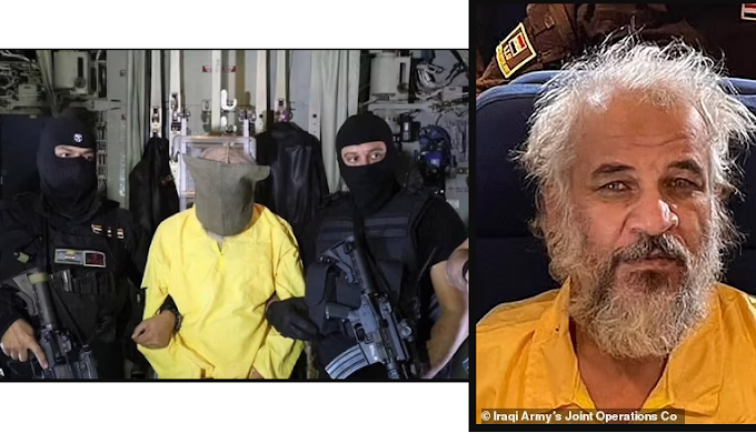 Iraqi forces arrest notorious ISIS second in command who had $5million US bounty on his head
