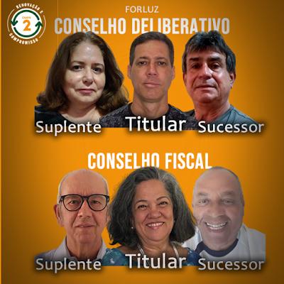 Conheça os candidatos da CHAPA 2 - Renovação e Compromisso