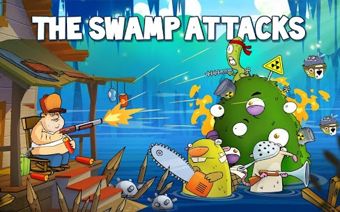 Swamp Attack MOD APK 4.0.5.87 [Unlimited Money] 6