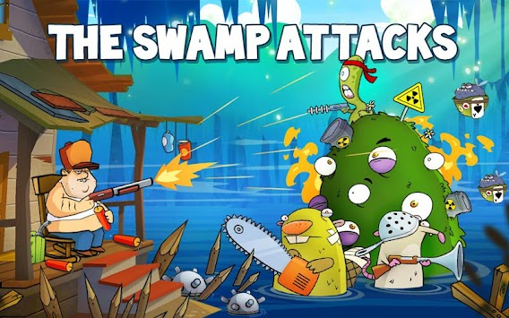 Swamp Attack APK screenshot thumbnail 6