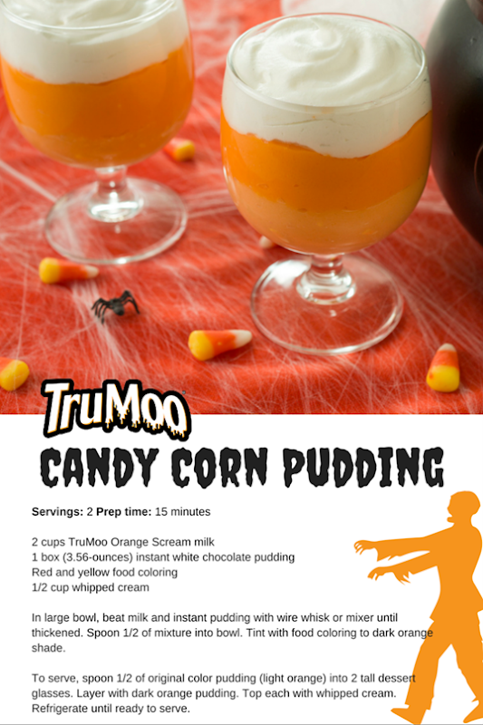 Candy Corn Pudding