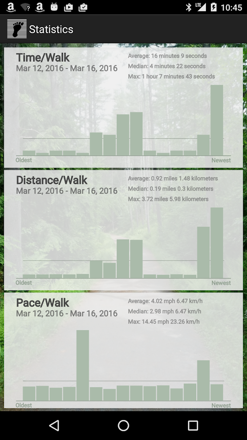 Simply Walking - GPS Map Steps- screenshot