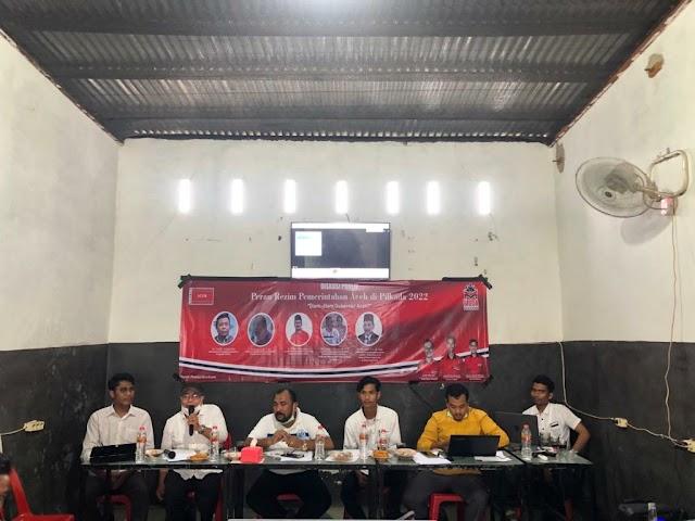Gelar Diskusi Publik Terkait Pilkada Aceh 2022 : Muda Seudang Gubernur Aceh Jangan Diam saja.