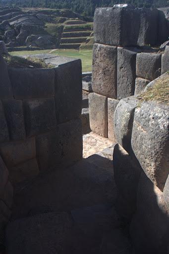 Camino del patio ceremonial, Sacsayhuamán