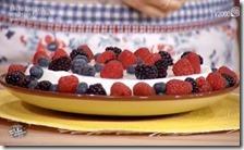 Bavarese yogurt mediterraneo con frutti di bosco